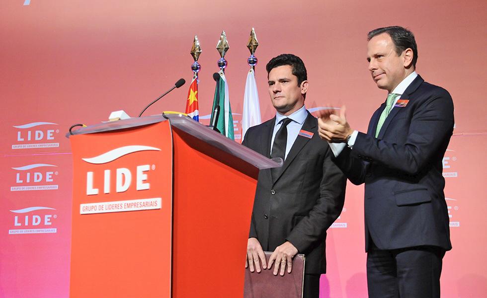 Sérgio Moro e João Dória Jr