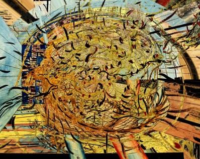 """""""S/Título"""" 1988 70 x 100 cm acrílica s/ papel"""