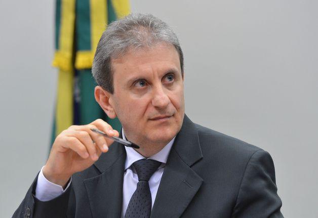 Brasília - Doleiro Alberto Youssef depõe na Comissão Parlamentar de Inquérito (CPI) dos Fundos de Pensão (Valter Campanato/Agência Brasil)