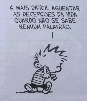 Calvin por Bill Waterson