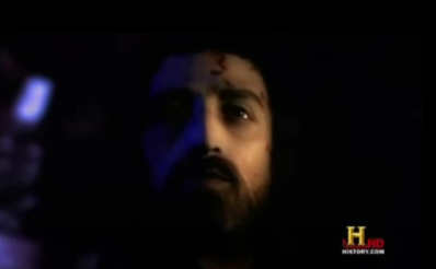 Imagem de jesus feita a partir do Sudário, em 3 d. Disponível em documentário no youtube