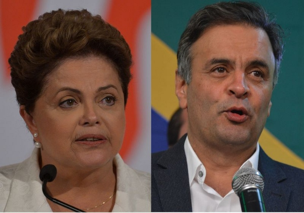 Dilma e Aécio Neves