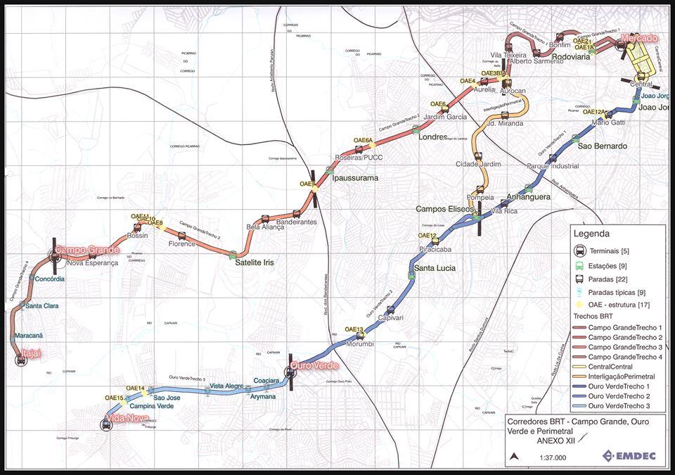 Imagem Emdec - BRT