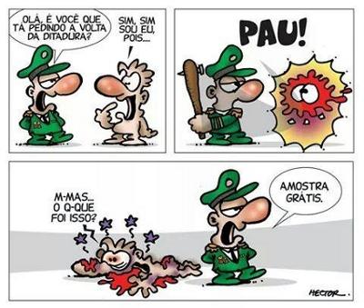 facebook de Dana Andrade - ditadura