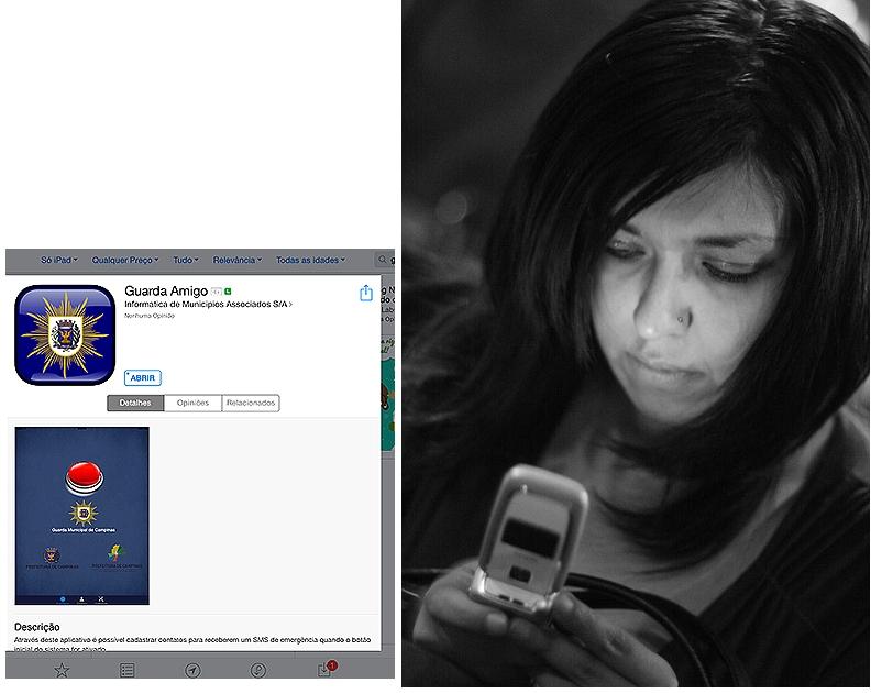 Foto Esparta Palma e PMC - celular aplicativo