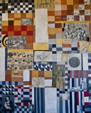 homme oiseau Homme-Oiseau   1.00m x 0,80m   colagem e óleo sobre tela (515x640)