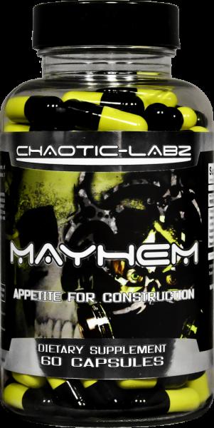 divulga Mayhem - suplemento alimentar
