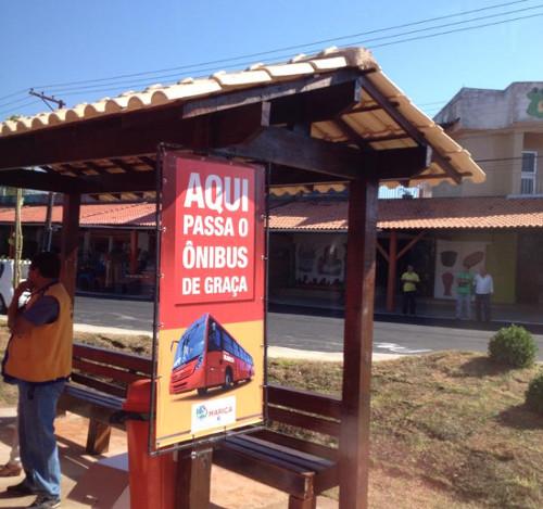 Pref de Maricá - ponto de ônibus