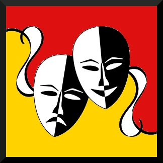 teatro máscaras