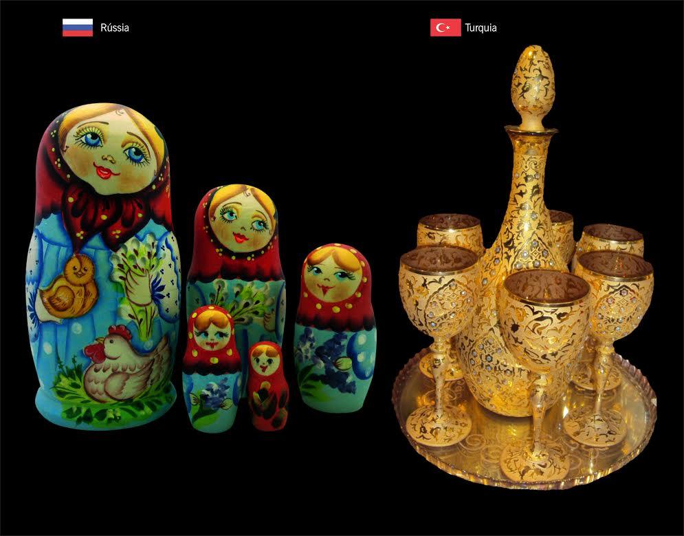Artesanato Com Garrafa De Vidro E Barbante ~ Mostra Internacional de Artesanato terá peças variadas de oito países
